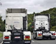 Scania R560 and 143M 500 Rear